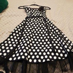 Ruby Rox rockabilly swing dress